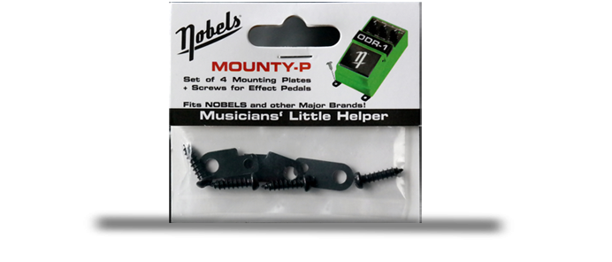 Mounty-P Befestigungsschrauben für Effektgeräte