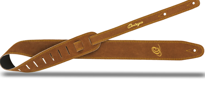 OSS2-BR Guitar Strap Wildleather Brown
