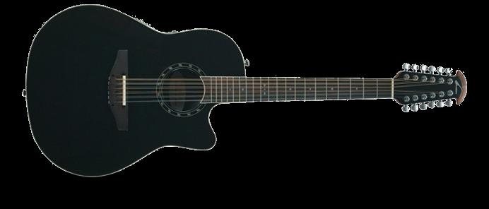 Standard Balladeer 2751 - 5 Black Deep Contour 12 Saiter