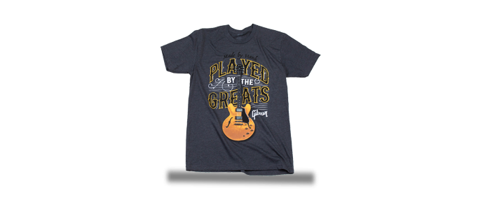Played by the Greats T Charcoal T-Shirt XXL
