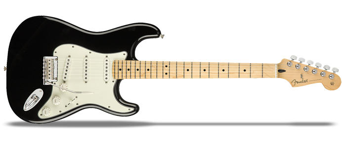 Player Stratocaster MN BLK Black