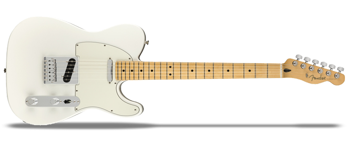 Player Telecaster MN PWT Polar White