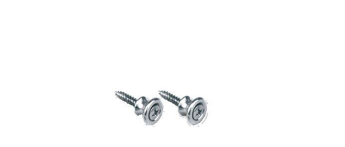 Strap Buttons Aluminium PREP-020