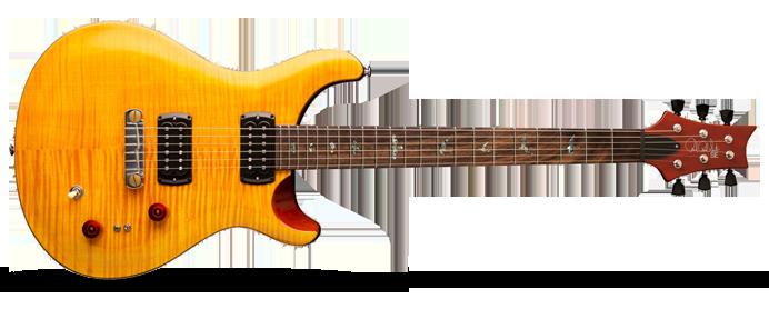 Paul´s Guitar Amber w/Tobacco Black