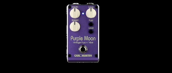Purple Moon Dual Speed Fuzz n' Vibe