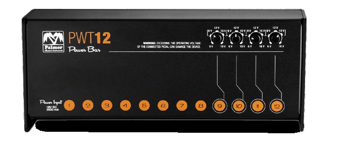 PWT 12 MK 2 Universalnetzteil für Pedalboards