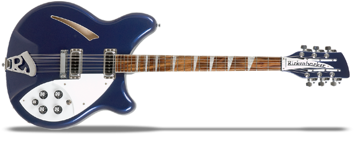 360/12 Midnight Blue 12-Saiter E-Gitarre