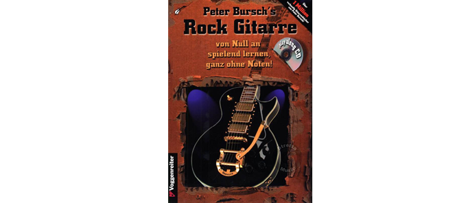 Peter Burschs Rock Gitarre