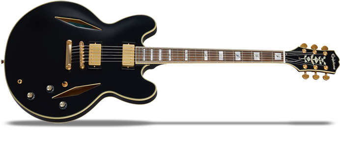 Emily Wolfe Sheraton Stealth - Black Aged Gloss