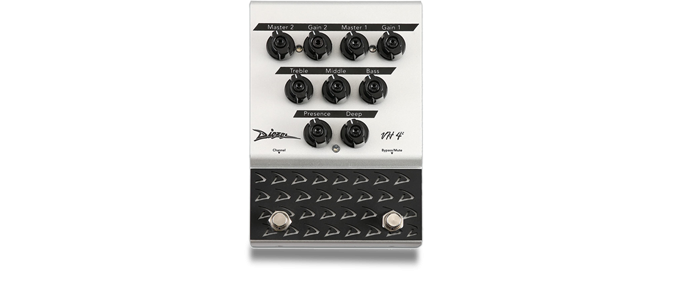VH4-2 Analog 2 Channel Pedal