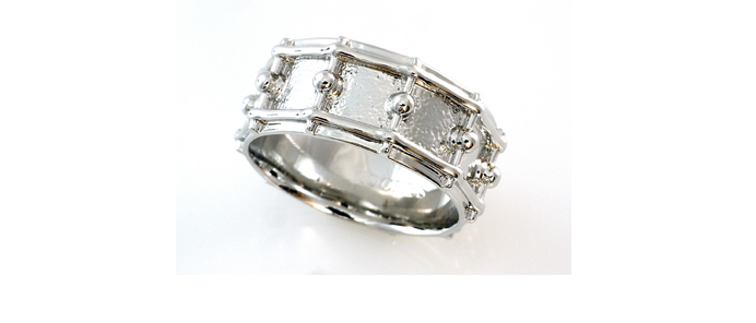 Snare Drum Ring + Kette