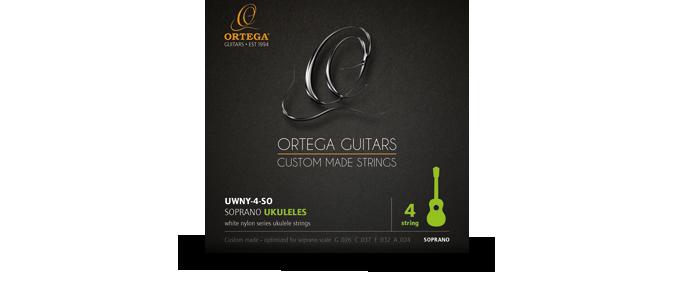UWNY-4-SO Ukulele Strings Soprano