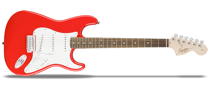 Affinity Series Stratocaster Race Red
