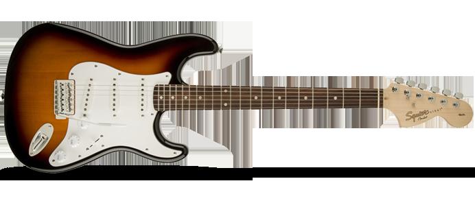 Affinity Series Stratocaster SSS LRL Brown Sunburst