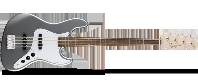 Affinity Jazz Bass IL Slick Silver