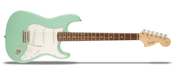 Affinity Series Stratocaster Surf Green