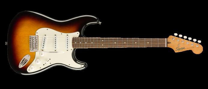 Classic Vibe 60s Stratocaster LRL 3 Color Sunburst