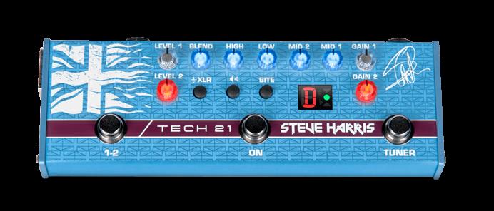 SH 1 Steve Harris Signature Bass Multieffektgerät