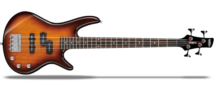 Mikro GSRM20-BS Brown Sunburst Kinder E-Bass