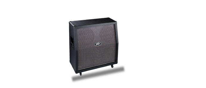 Valve King 412 schräge Gitarrenbox