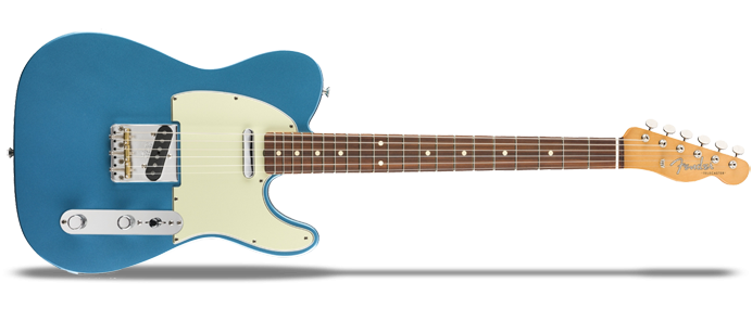 Vintera 60s Telecaster Modified PF LPB Lake Placid Blue