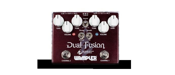 Dual Fusion Overdrive Tom Quale Signature