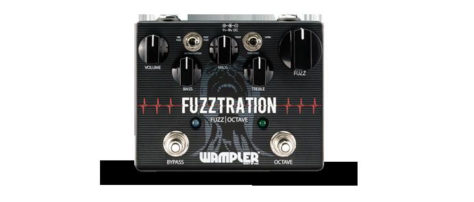 Fuzztration Fuzz Octave Pedal