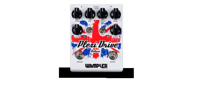 Plexi Drive Deluxe V2 British Overdrive