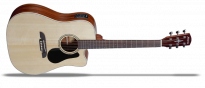 Regent RD26CE Dreadnought Natural Gloss Finish