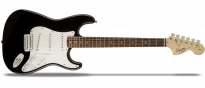 Affinity Series Stratocaster SSS RW Black