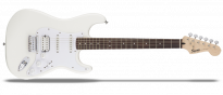 Bullet Stratocaster Hard Tail HSS Arctic White