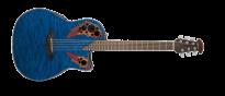 Celebrity Elite Plus Mid Cutaway CE44P-8TQ-G Trans Blue Quilte