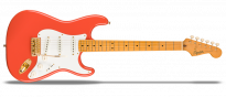 FSR Classic Vibe '50s Stratocaster Fiesta Red with Gold Hardware