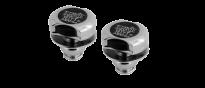 Strap Locks Chrome EB4600 Gurtsicherungssystem für Gitarren