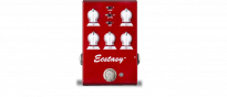 Ecstasy Red Mini Pedal Overdrive