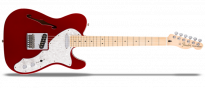 Deluxe Telecaster Thinline MN Candy Apple Red