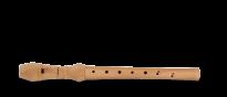 C-Sopran Blockflöte Natura Barocke Griffweise