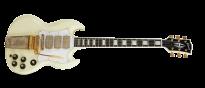 Jimi Hendrix 1967 SG Custom Aged Polaris White Limited Edition
