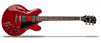 Joan Jett ES-339 Figured Wine Red with Signature