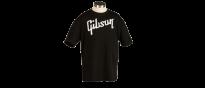 T Shirt Original Schwarz Gibson Logo Größe L