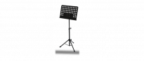 Orchesterpult Notenständer schwarz