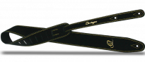 OSS2-BK Guitar Strap Wildleather Black