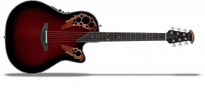 USA Custom Elite C1778LX-BCB Black Cherry Burst Mid Cutaway