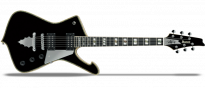 PS120 Black Paul Stanley Signature
