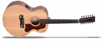 SE Series GJM12E Natural Grand Jumbo 12 Saiter Akustik Gitarre