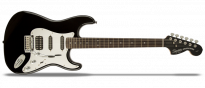 Black and Chrome Standard Stratocaster HSS Black B-Ware