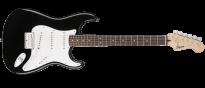Bullet Stratocaster Hard Tail SSS Black