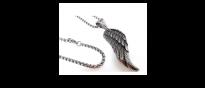 Edelstahlkette Wings