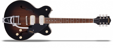 G2622T-P90 Streamliner Center Block Double-Cut P90 with Bigsby