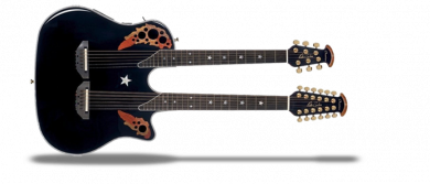 RSE225-5 Signature Collection Richie Sambora Elite Double Neck